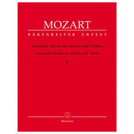 Mozart, W.A.: Sämtliche Werke - Band 2