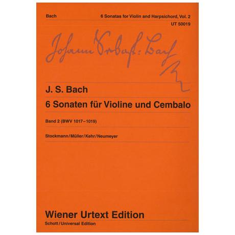 Bach, J.S.: 6 Sonaten Band 2: BWV 1017-1019