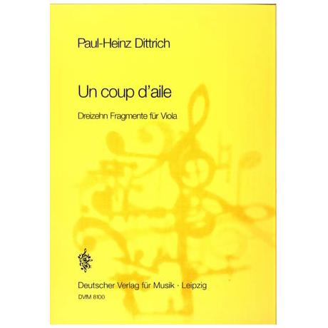 Dittrich, P.-H.: Un coup d aile (1984)