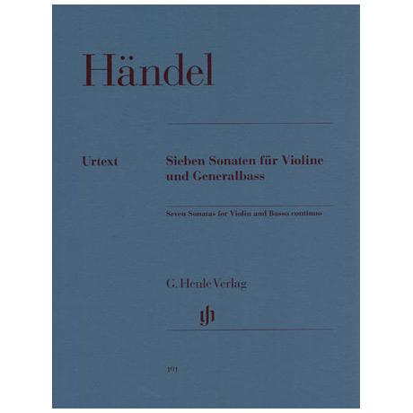 Händel, G. F.: 7 Violinsonaten