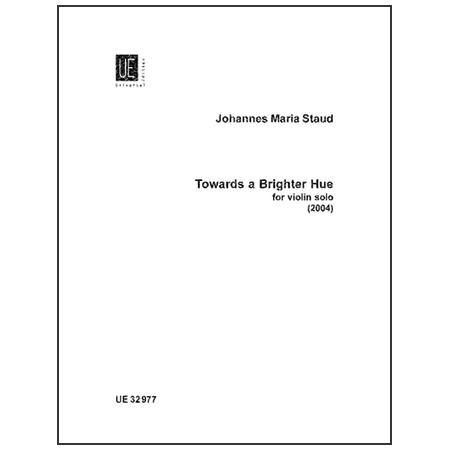 Staud, J. M.: Towards a Brighter Hue