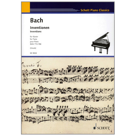 Bach, J. S.: Inventionen BWV 772 – 786
