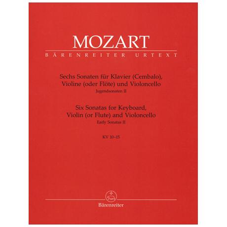 Mozart, W. A.: 6 Violinsonaten KV 10-15