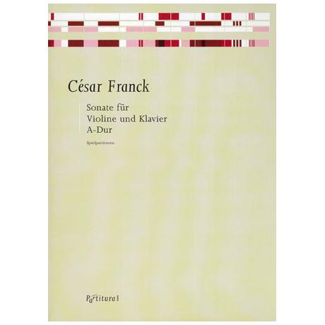 Franck, C.: Sonate A-Dur Op.100