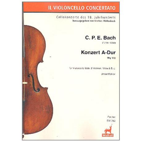 Bach, C.Ph.E.: Konzert A-Dur Wq172