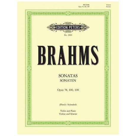 Brahms, J.: 3 Sonaten