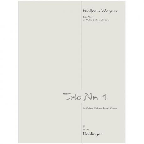 Wagner, W.: Klaviertrio Nr. 1 (1989)