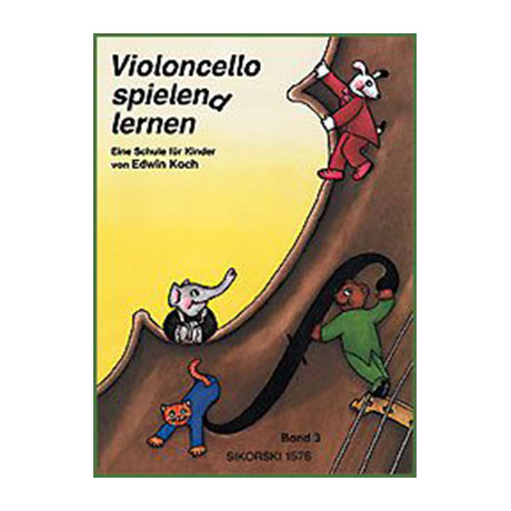 Koch: Violoncello spielen(d) lernen Band 3