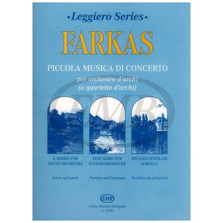 Leggiero - Farkas: Piccola musica di concerto
