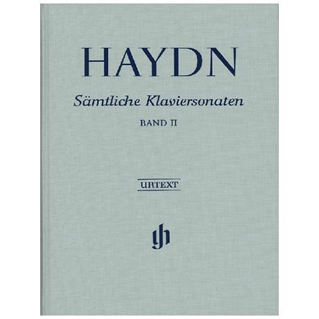 Haydn, J.: Sämtliche Klaviersonaten Band II