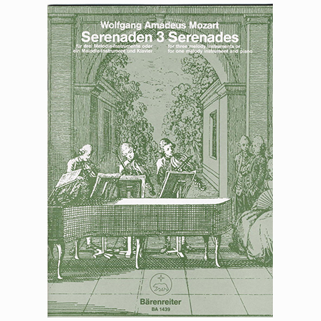Mozart, W. A.: Serenade C-Dur KV 439b/3