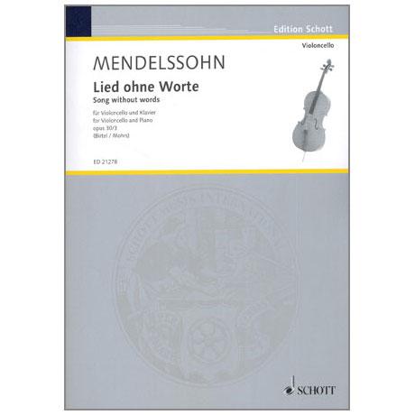 Mendelssohn, B. F.: Lied ohne Worte Op. 30 Nr. 3