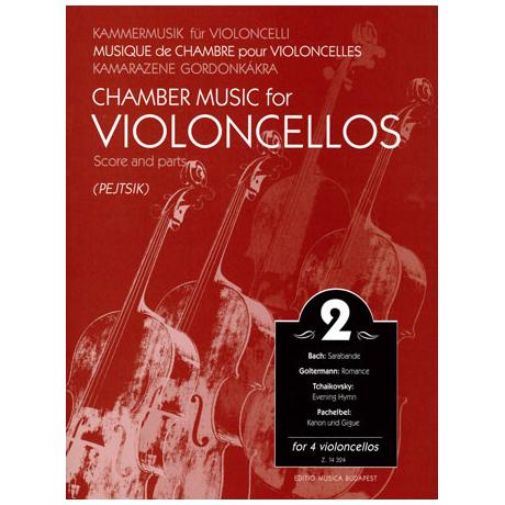 Kammermusik für Violoncelli Band 2