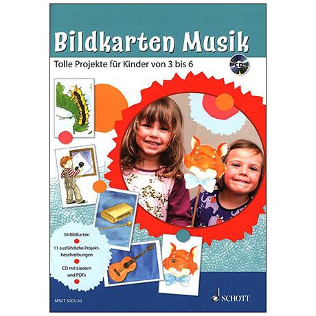 Bildkarten Musik (+CD)