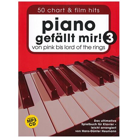Piano gefällt mir! 50 Chart und Film Hits Band 3 (+CD)