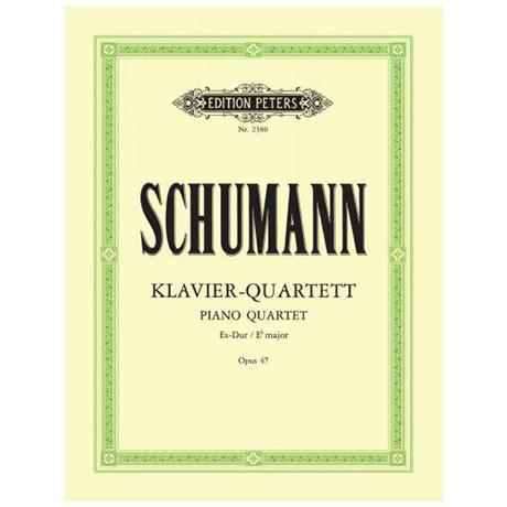 Schumann, R.: Klavierquartett Op. 47 Es-Dur