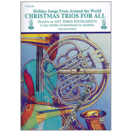 Ryden, W.: Christmas Trios for All – Violine