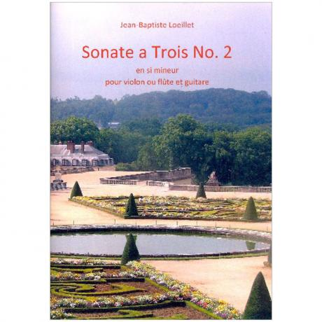 Loeillet de Gant, J. B.: Sonate Nr. 2 h-Moll