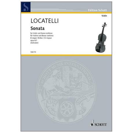 Locatelli, P. A.: Violinsonata Op. 6/1 B-Dur