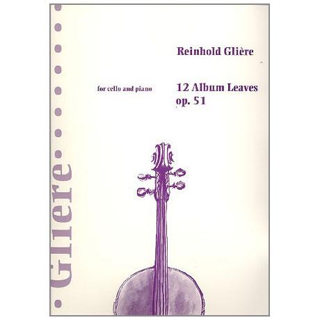 Gliere, R.: 12 Albumblätter op. 51
