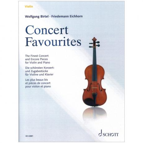 Birtel, W./Eichhorn, F.: Concert Favourites – Die schönsten Zugabenstücke