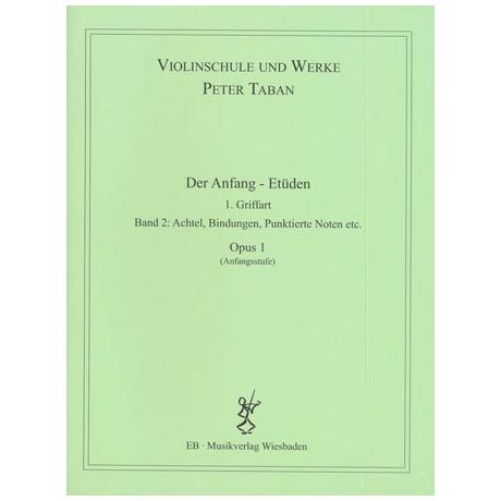 Taban, P.: Op. 1: Der Anfang – Etüden Band 2