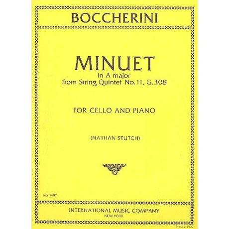 Boccherini, L.: Menuett A-Dur (aus Streichquartett Nr. 11 G. 308)