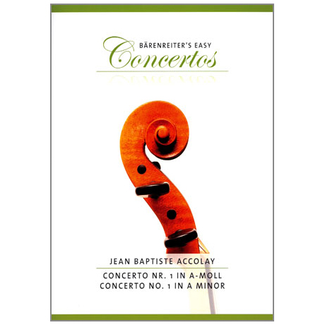 Accolay, J.B.: Concertino in a-moll Nr.1