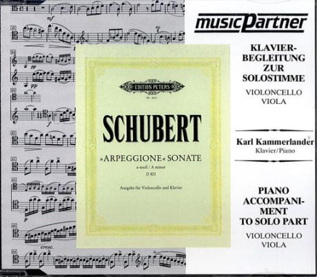 Schubert, F.: Sonate a-moll für Arpeggione Compact-Disc CD