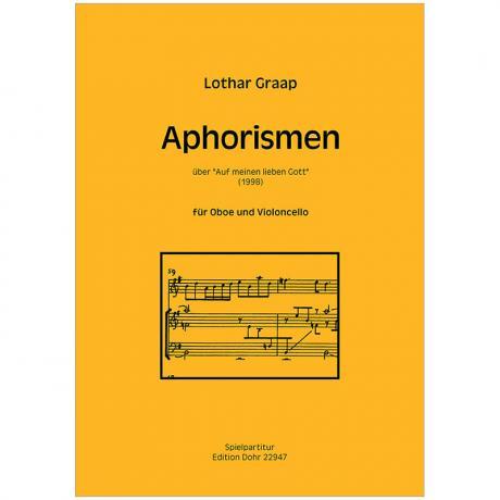 Graap, L.: Aphorismen über »Auf meinen lieben Gott« (1998)