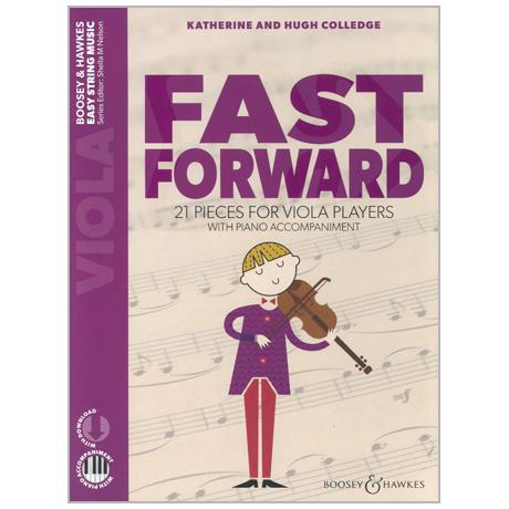 Colledge, K. & H.: Fast Forward for Viola (+Online Audio)