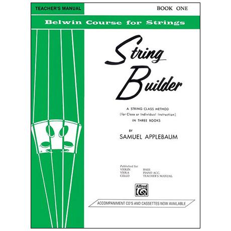 Applebaum, S.: String Builder Book One – Lehrerhandbuch
