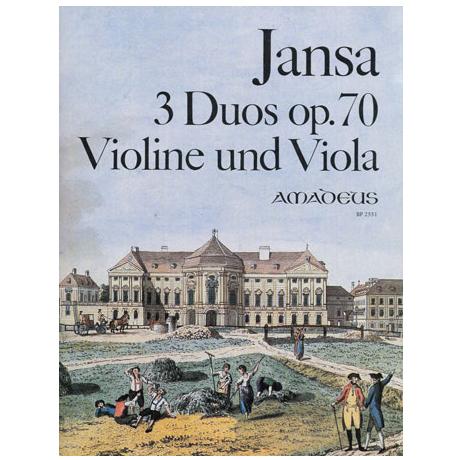Jansa, L.: 3 Duos Op. 70/1-3