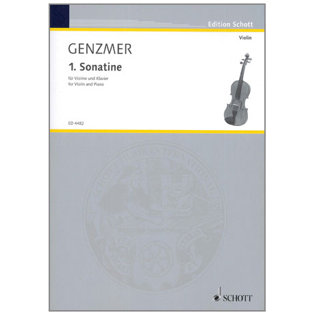 Genzmer, H.: Sonatine Nr.1 GeWV 225