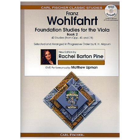 Wohlfahrt, F.: Foundation Studies For Viola Band 2 (+DVD)