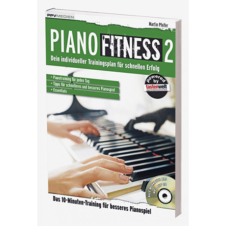 Pfeifer, M.: Piano Fitness 2 (+MP3-CD)
