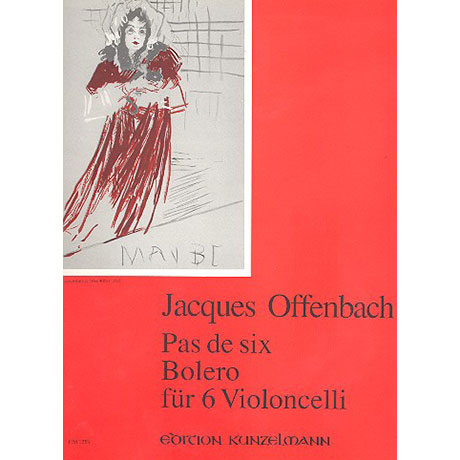 Offenbach, J.: Pas de six und Bolero