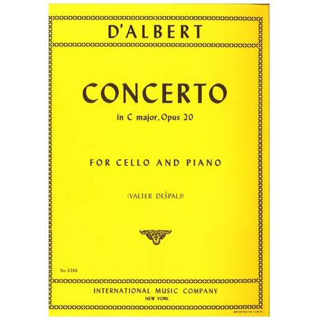 d´Albert, E.: Konzert in C-Dur op. 20 (Despalj)