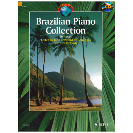Crawford de Cominges / Richard: Brazilian Piano Collection (+CD)