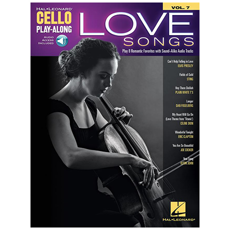 Love Songs for Cello (+Online Audio)