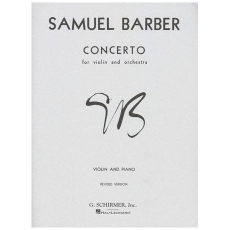 Barber, S.: Concerto op.14