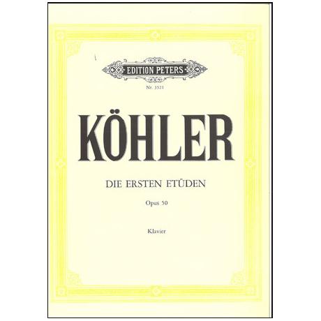 Köhler, L.: Die ersten Etüden Op. 50