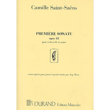 Saint-Saens, C.: Sonate c-moll Nr.1 Op.32