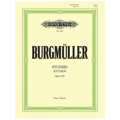 Burgmüller, Fr.: 12 Melodische Etüden op. 105