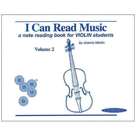 Martin, J.: I Can Read Music Volume 2