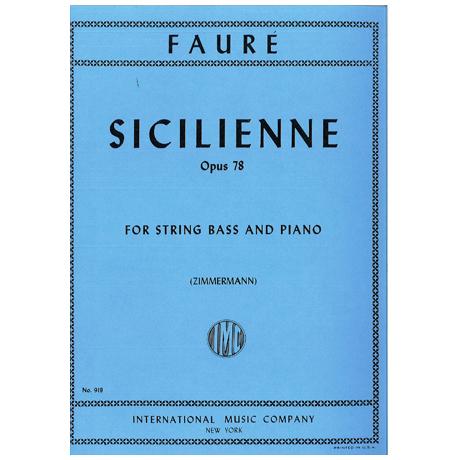 Fauré, G.: Sicilienne Op.78