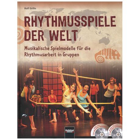 Grillo: Rhythmusspiele der Welt (+DVD+CD)