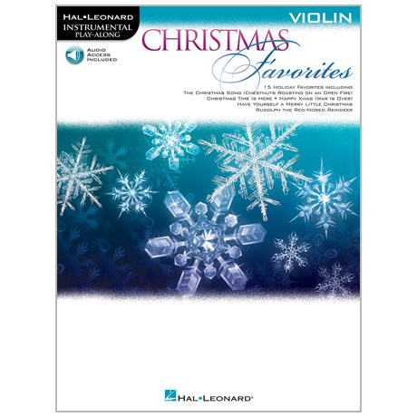 Christmas Favorites for Violin (+Online Audio)