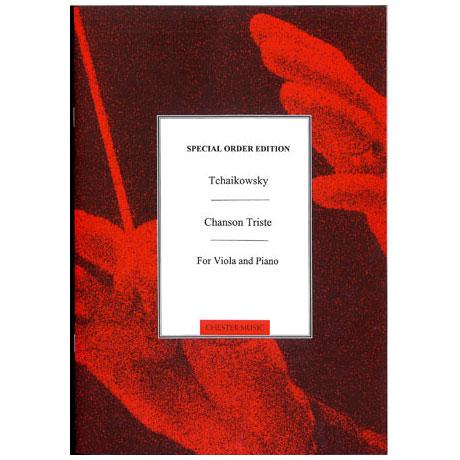Tschaikowski, P.I.: Chanson triste / Chanson Italienne
