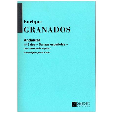 Granados, E.: Andaluza spanischer Tanz Nr. 5